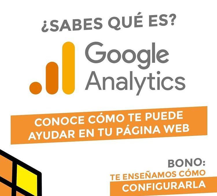 ¿Sabes qué es google analytics?